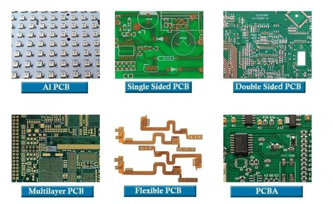 ROSH HASL Multilayer PCB Board Design Manufacturing With