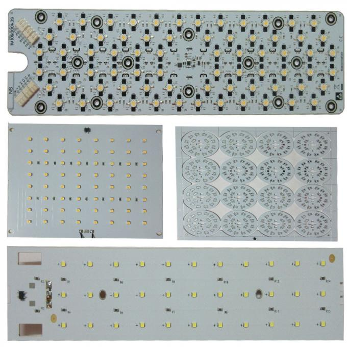 FR 4 2 Layer Aluminium PCB Board FOR LED OSP , High Power Metal Core PCB