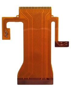 Touch Keypad 2 Layers Flex PCB Design 0 1Mm Thickness With