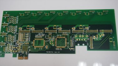 China High TG Double Layer Double Sided PCB 2 Layer 94V0 White Silkscreen supplier