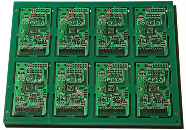 China HASL 1 OZ Double Sided PCB Board 2 Layer Squre Board For Temperature Controller supplier