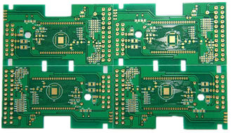 China Green 10 Layer High Frequency Bare PCB Board High TG FR4 1.0-3.20MM Thickness supplier