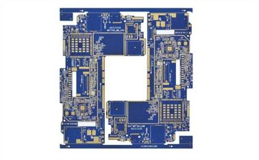China Blue BGA Rigid PCB Board High TG180 2 OZ Copper Thickness 1.6MM Board Thickness supplier