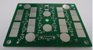 China 0.3mm Green 2 Layer Aluminium PCB Board Fabrication 6 Mil Metal Core PCB Prototype supplier