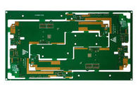 China High Density Multilayer PCB Board 8 Layer Green Solder Mask 1oz Copper Thickness factory