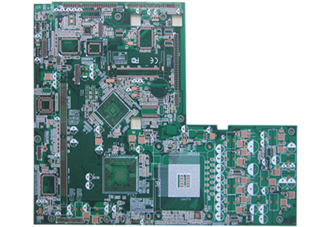 TG 150 Double Sided fr4 PCB Manufacturing Service HDI