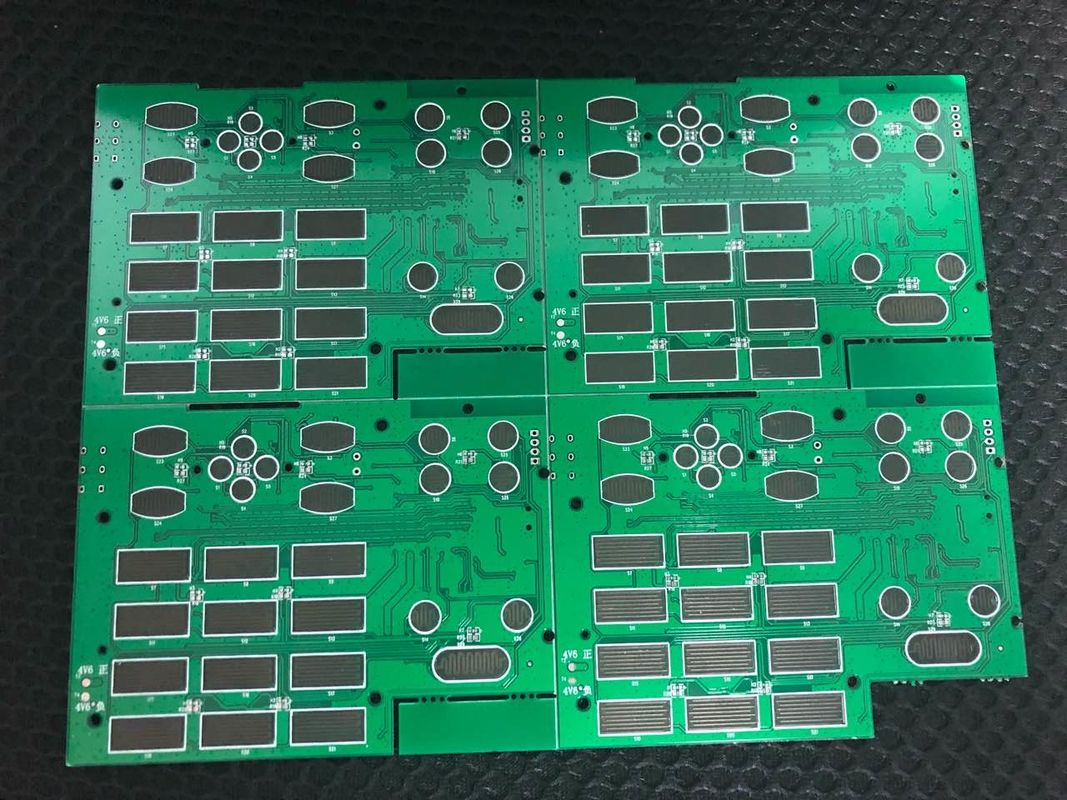 Ts16949 Ul 2 Layer Pcb Board Electronics Components Assembly China Immersion Gold Circuit
