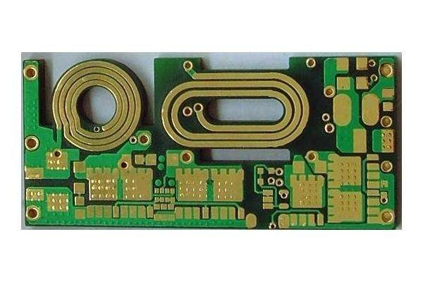LED Driver 2 layer Heavy Copper PCB FR 4 ENIG 4 Oz Copper Thickness