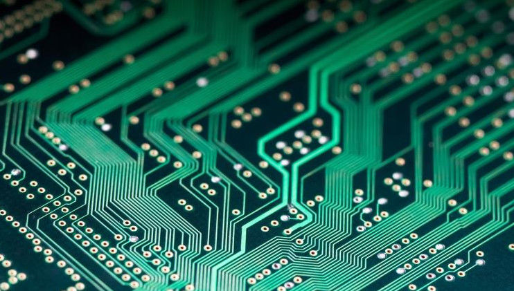 High Frequency 3 Mil PCB Trace L HASL Green FR4 PCB