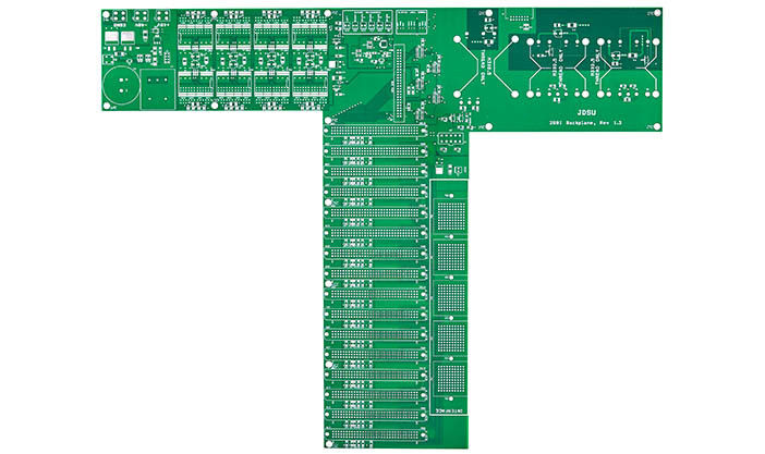 High Temp 8 Layer 3MM 2 OZ FR4 Printed Circuit Board PCB Assembly