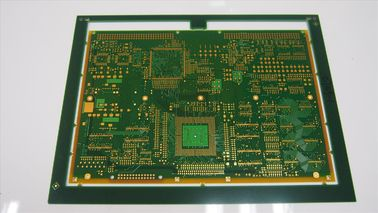 ENIG 6 Layer Multilayer PCB Board Fabrication FR4 2.0mm Immersion Gold