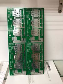 Green FR 4 Base Heavy Copper PCB 4Oz Finished For Industrial Control Product
