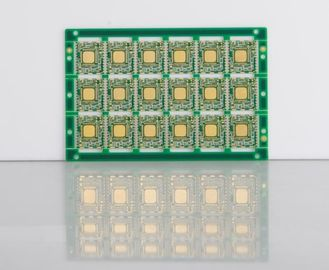 Small Size Green Mask Electronic Control Board Two Sided PCB 3 OZ Copper Thickess