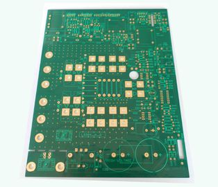 Green Rigid Double Layer Printed Circuit Board TG 150 PCB IPC Class 3 RoHS Approve
