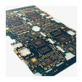 3 Oz 4 Layer Blue Heavy Copper PCB Plated Through Hole For Control Systerm