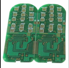 Four Layer TG135 ENIG Rigid Printed Circuit Boards Fr4 Laminate Rohs Compliant