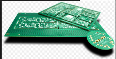 Single Side FR4 Aluminum Rigid PCB Board Double Layer For Electronics Device